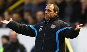 Gianfranco Zola, West Ham manager