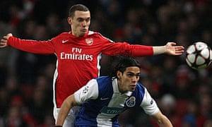 Thomas Vermaelen, Arsenal v Porto