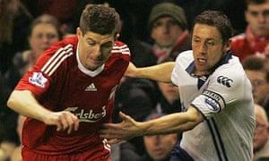 Michael Brown, Steven Gerrard
