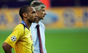 Arsene Wenger & Thierry Henry