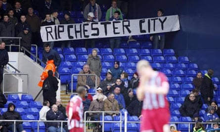 Ipswich fans sympathise with Chester City