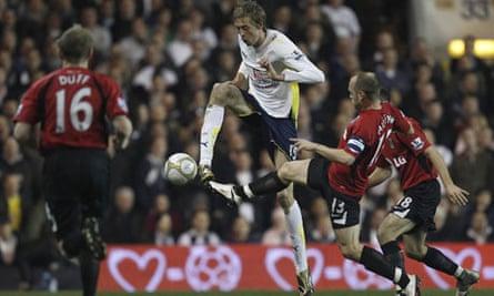 Tottenham Hotspur's Peter Crouch