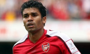 Eduardo da Silva of Arsenal