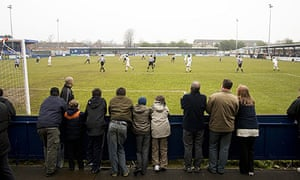 Havant & Waterlooville's Westleigh Park ground during a game against Maidstone