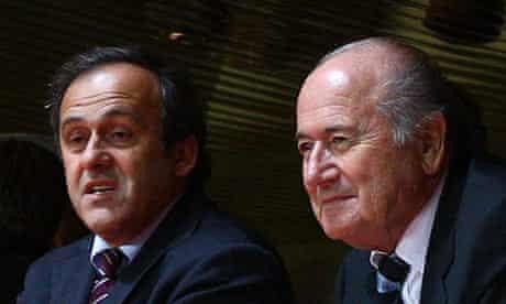 Michel Platini/Sepp Blatter