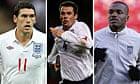 Gareth Barry, Jamie Carragher and Darren Bent