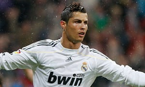 Cristiano Ronaldo has scored 26 goals in 28 La Liga games for Real Madrid this season