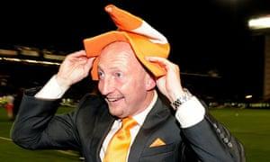 Ian Holloway, the Blackpool manager