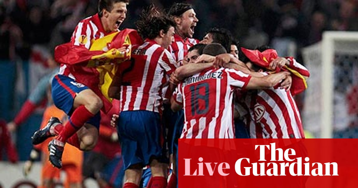 Atletico Madrid V Fulham As It Happened Europa League Final Paul Doyle Football The Guardian