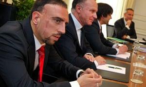 Bayern Munich's Franck Ribery