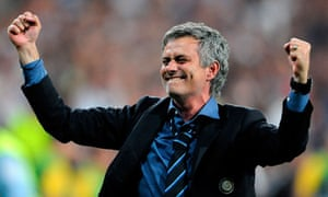 José Mourinho after Inter Champions League win
