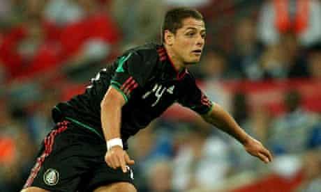 Javier Hernández, Mexico striker