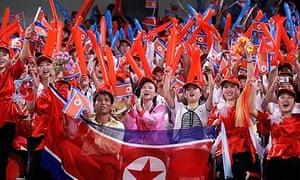 North Korean fans