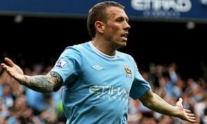 Manchester City forward Craig Bellamy