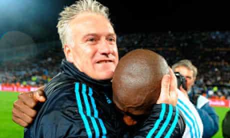 Marseille's coach Didier Deschamps
