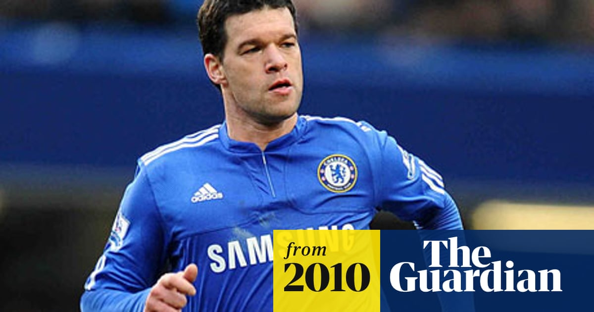 newest 7857b ab4c0 Chelsea's Michael Ballack eager to stay in the Premier ...