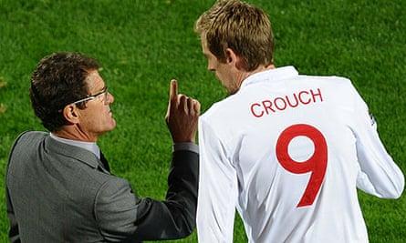 Fabio Capello, Peter Crouch