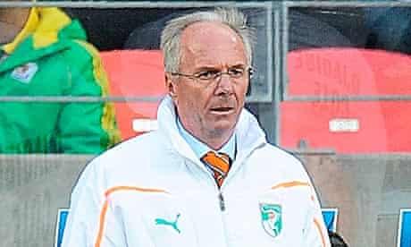 Sven-Goran Eriksson PW