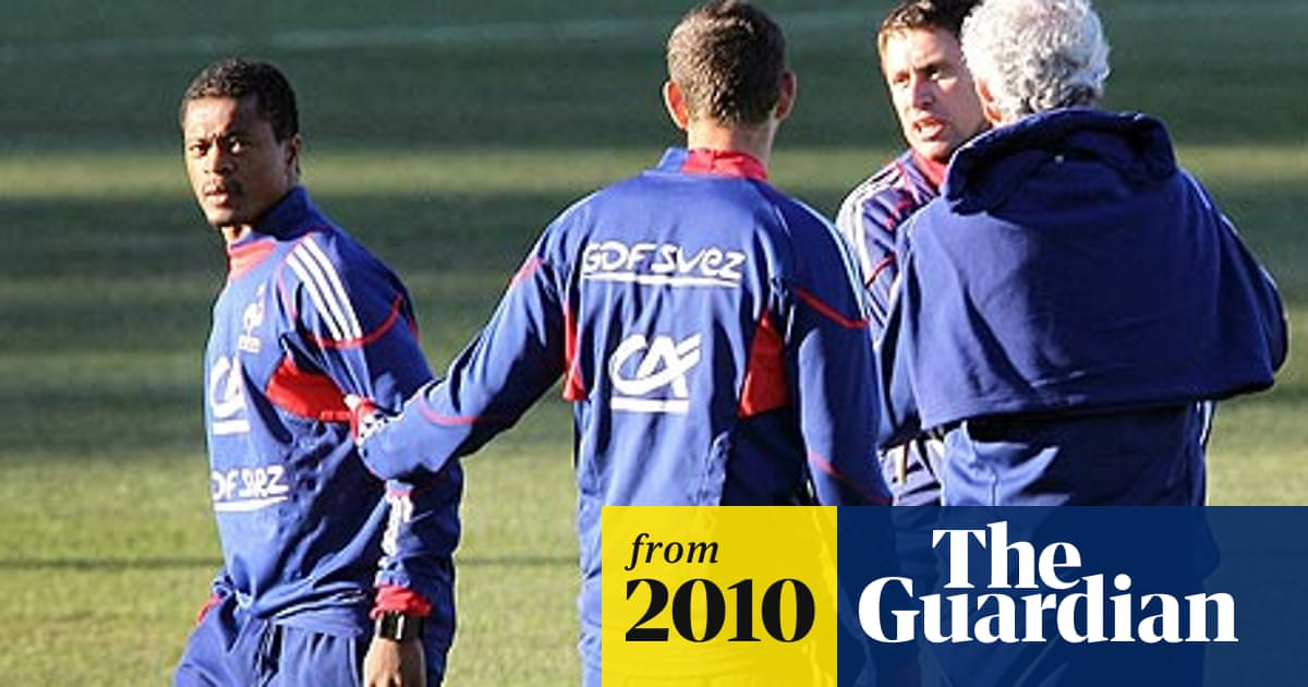 1645cd520 World Cup 2010: France revolt leaves Raymond Domenech high and dry ...