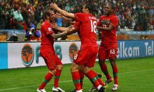 b5004300a World Cup 2010  Portugal v North Korea - as it happened