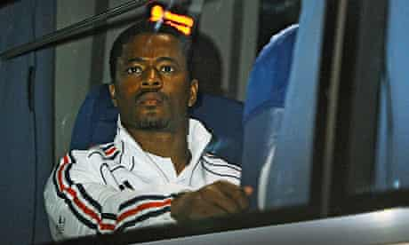 France's defender Patrice Evra