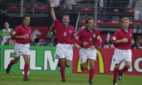 Alan Shearer at euro 2000