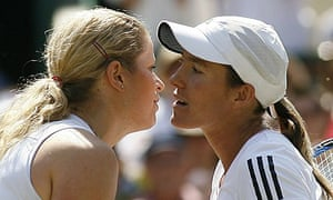Clijsters and Henin