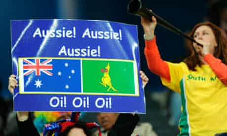 Australia supporters at World Cup