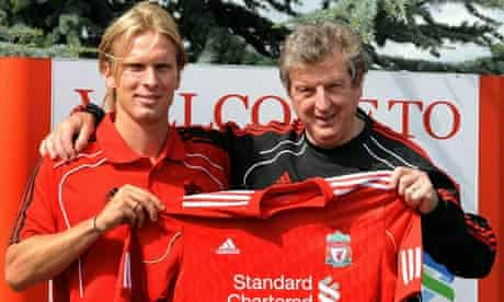 New Liverpool signing Christian Poulsen
