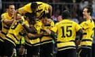 Young Boys celebrate
