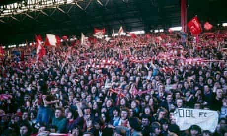20.04.1974 LFC v Everton (0-0) - Anfield crowd