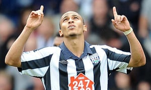 Peter Odemwingie of West Bromwich Albion