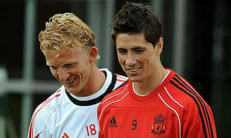 Fernando Torres and Dirk Kuyt