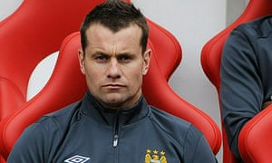 Shay Given sits on the bench at Sunderland