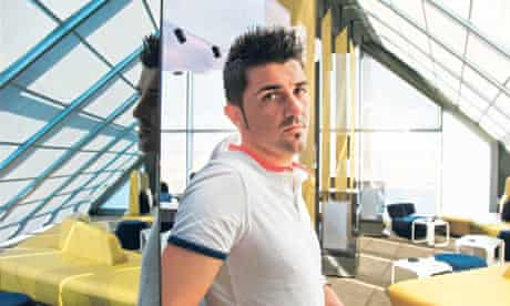 Barcelona footballer David Villa