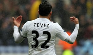 Carlos Tevez, Manchester City
