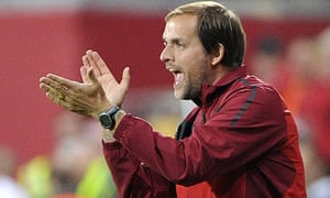 Mainz's head coach Thomas Tuchel
