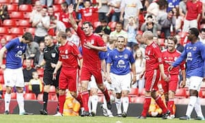 Jamie Carragher Testimonial Match - Liverpool v Everton XI - Anfield