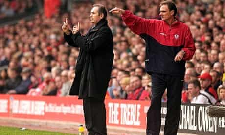 Phil Thompson and Gerard Houllier