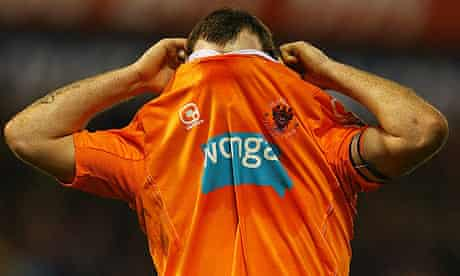 Charlie Adam could be swapping his Blackpool shirt for an Aston Villa