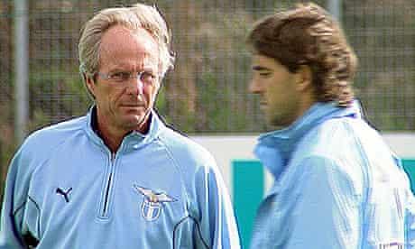Sven Goran Eriksson and Roberto Mancini
