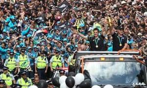 New Zealand victory parade