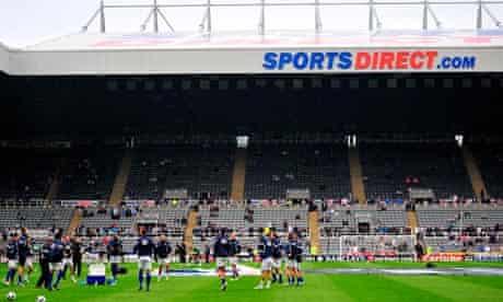 St James' Park, now Sport Direct Arena