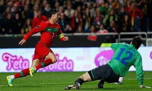 Cristiano Ronaldo Portugal Bosnia