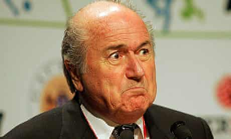 Sepp Blatter's suggestionracial incidents should be settled with a handshake came as no surprise