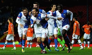Blackburn Rovers beat Newcastle in the Carling Cup