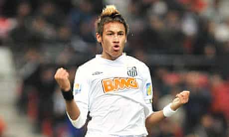 Neymar Santos Club World Cup