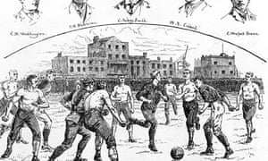 Old Carthusians v Preston North End from 1887