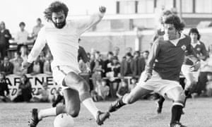 George Best playing for Dunstable. At the age of 27