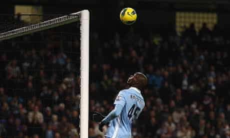Mario Balotelli Manchester City Norwich City